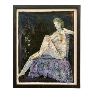 Vintage Painting Woman 1