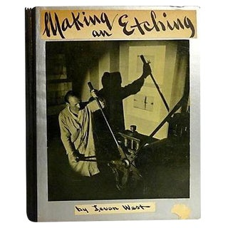 """Making an Etching"" 1932 Book By Levon West For Sale"