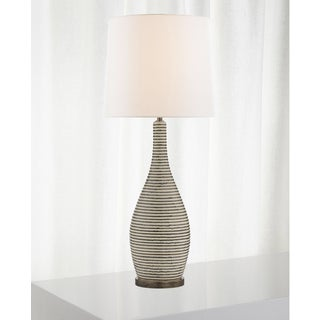 Visual Comfort Ceramic Table Lamp With Shade Preview