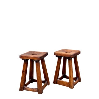 Swedish Stools- A Pair For Sale