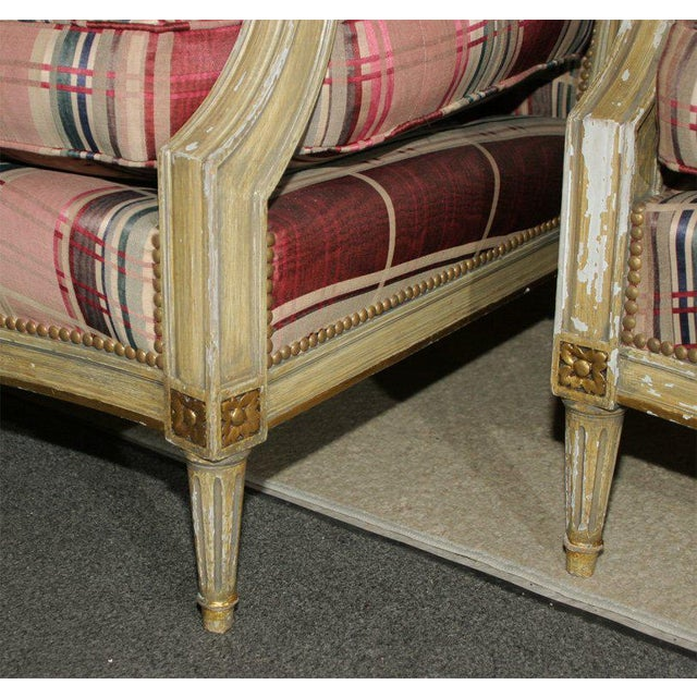 Fabulous French Bergere Chair by Jansen For Sale In New York - Image 6 of 9