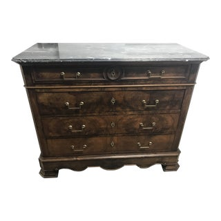 French Chest With Marble Top