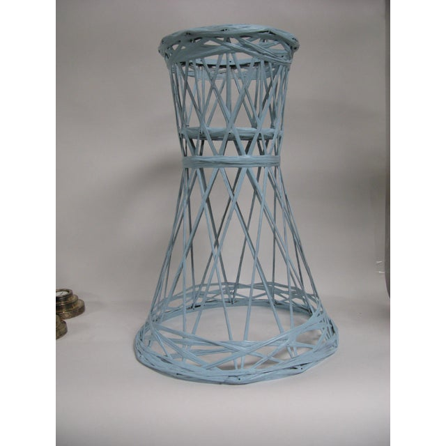 Mid Century Modern Fiberglass Russell Woodard Plant Stand For Sale In Charleston - Image 6 of 8