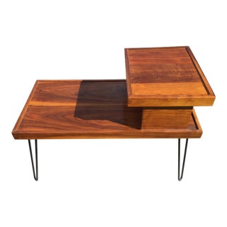 Mid-Century-Style Two-Tiered Table