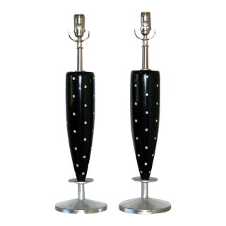 Rhinestone Lamps by Rembrandt For Sale