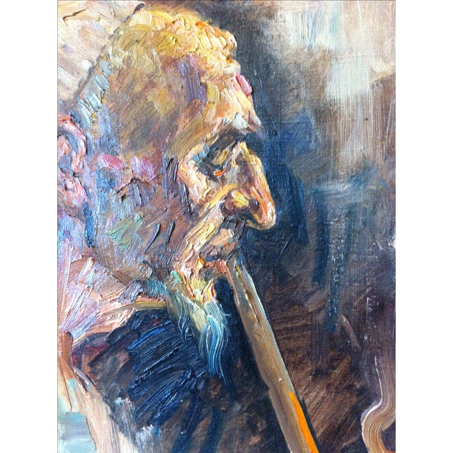 Oil Painting by Cyrus Afsary For Sale - Image 4 of 6