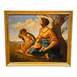 18th Century Italian School Oil on Canvas Painting For Sale