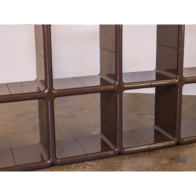 Kay Leroy Ruggles Brown Umbo Modular Shelf Unit for Directional For Sale - Image 9 of 10