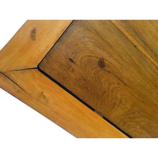 Vintage 1940s Tibetan/Chinese Elm Coffee Table For Sale - Image 9 of 13
