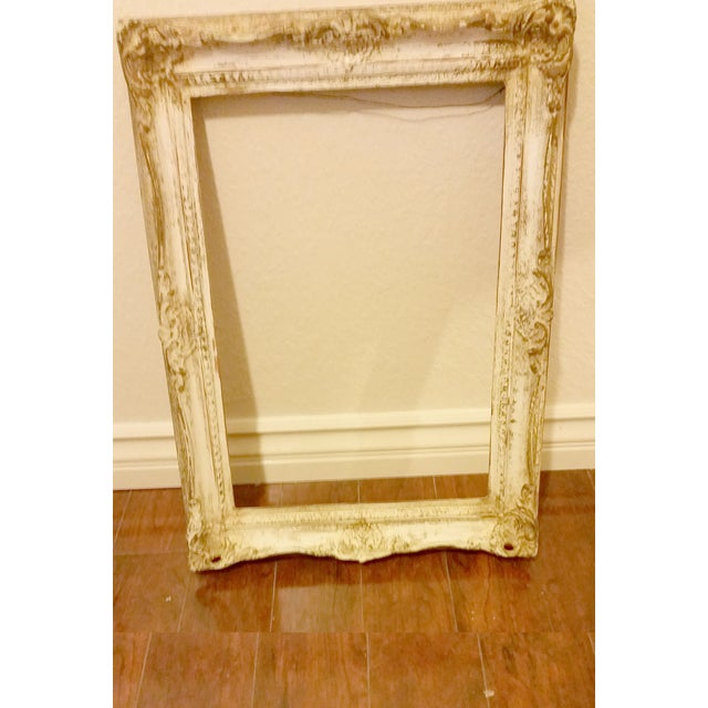 Vintage Distressed Shabby Chic Picture Frame - Image 2 of 4