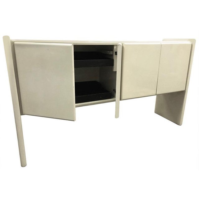 1970s 1970s Minimalist Milo Baughman for Thayer Coggin Lacquered Buffet/Sideboard For Sale - Image 5 of 13
