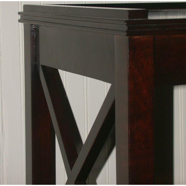 Regency Style Console With Shelving - Image 5 of 8