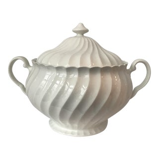 White English Johnson Bros. Regency Tureen