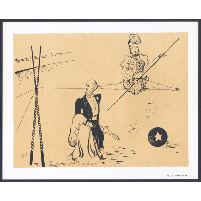 1944 Lithographs - Circus: # 26 & 30 - A Pair - Image 2 of 7