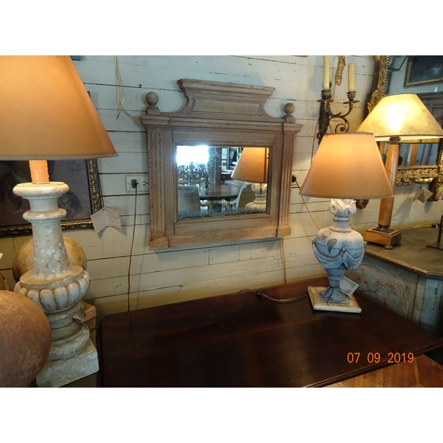 19th Century French Oak Mirror For Sale - Image 10 of 11