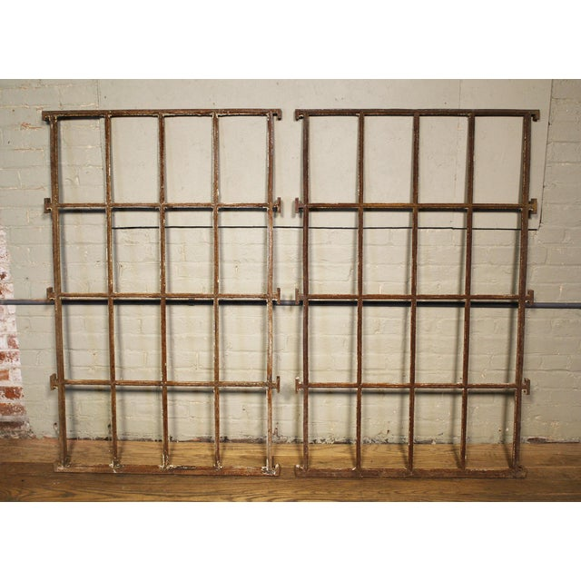 Cast Iron Asylum Iron Grills For Sale - Image 7 of 10