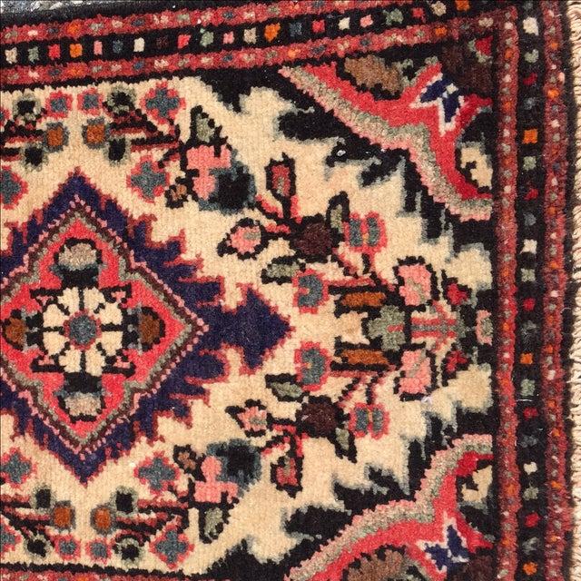 Hamadan Persian Rug - 1′6″ × 2′2″ - Image 5 of 10