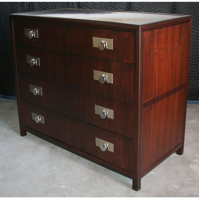 Baker Furniture Company Michael Taylor for Baker Chest of Drawers For Sale - Image 4 of 5