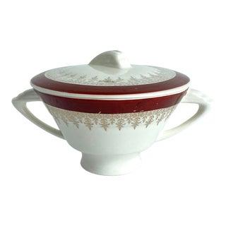 Vintage Stetson China Covered Sugar Bowl For Sale