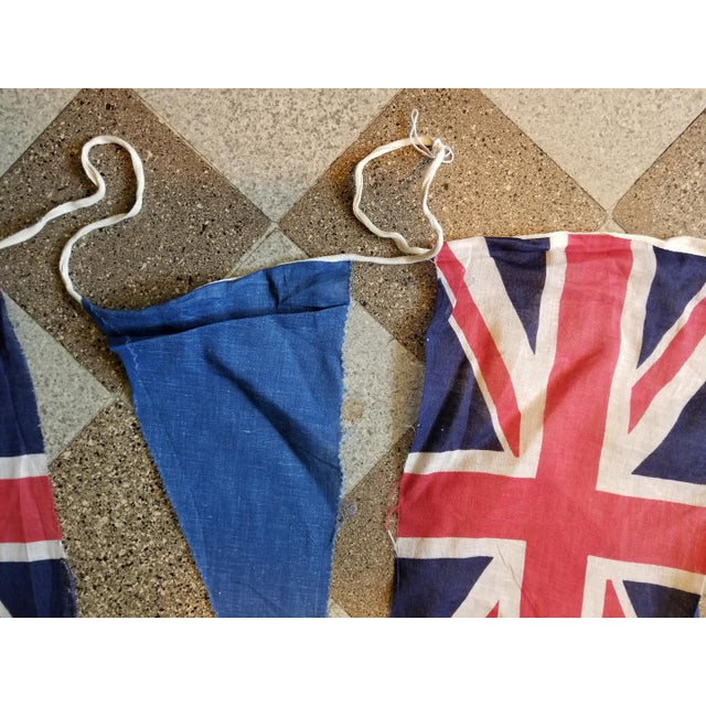 Coronation Flag Bunting For Sale - Image 4 of 5