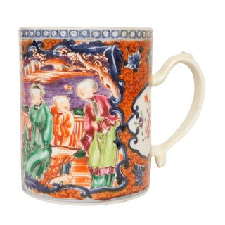 18th Century Chinese Export Porcelain Mug For Sale