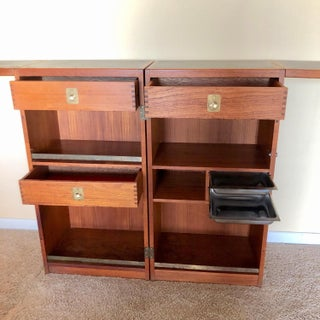 Rosewood Folding Dry Bar by Dyrlund Preview