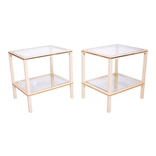 Pierre Vandel Coffee Table & Side Tables Set For Sale