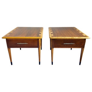 Mid-Century Modern Lane Acclaim End Tables, Pair For Sale