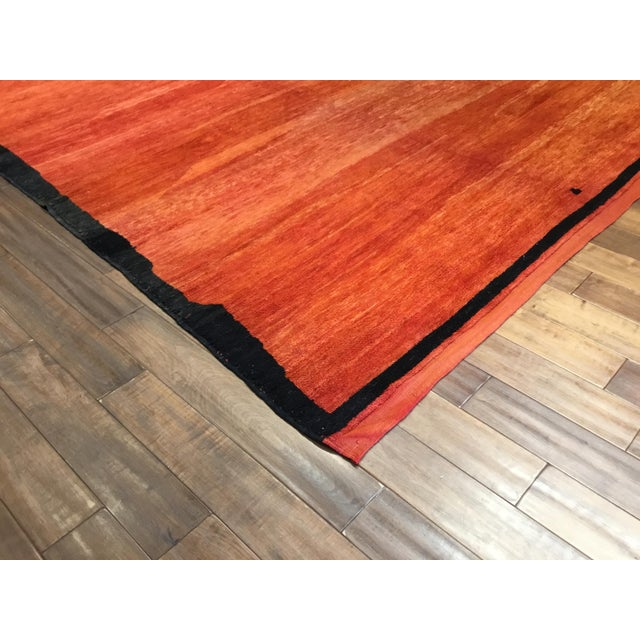 Contemporary Mid-Century Vintage Moroccan Carpet - 8′ × 11′8″ For Sale - Image 3 of 5