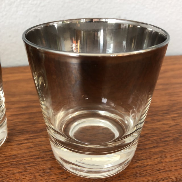 Ombre Lowball Glasses - Set of 4 For Sale - Image 5 of 8