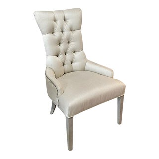 Fremarc Designs Tufted Arm Chair For Sale