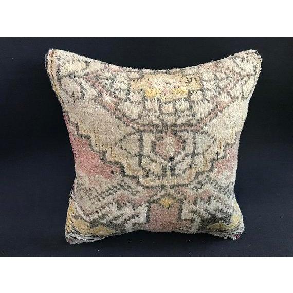 Turkish Anatolian Oushak Wool Pillow Case For Sale - Image 9 of 9