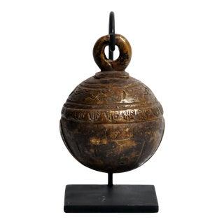 Antique Burmese Cowbell For Sale