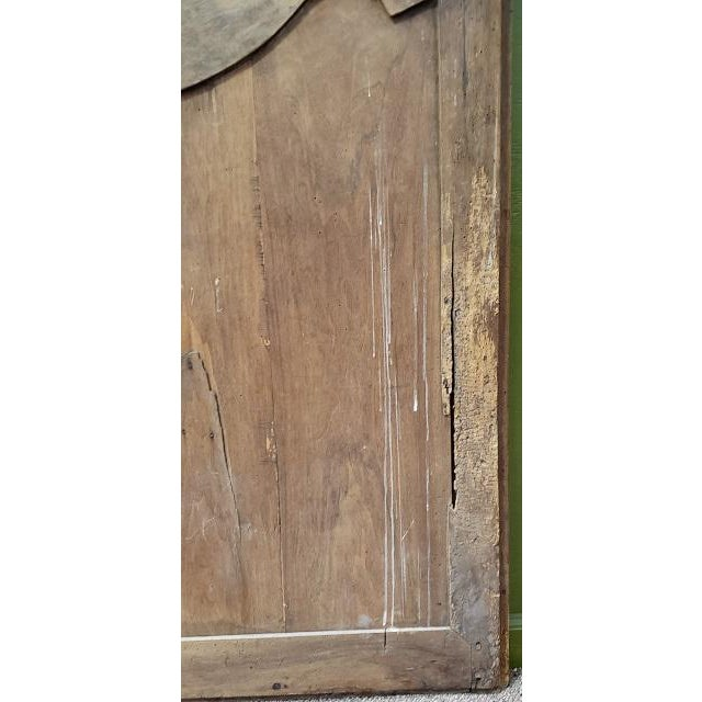 Wood Pair of Mid 19th Century French Walnut Door Panels C.1850s For Sale - Image 7 of 13