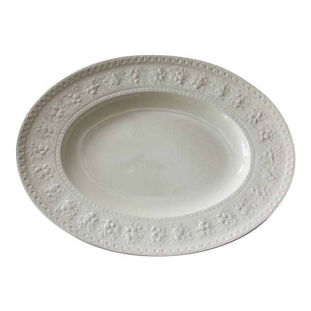 C. 1940 Large English Wedgwood Oval Serving Platter For Sale