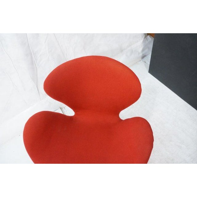 Arne Jacobsen Swan Chair Fritz Hansen Mid Century Chairish