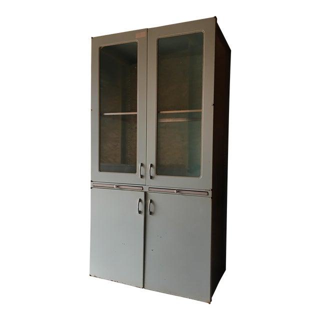 Vintage 60s Medical Cabinet For Sale