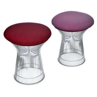 Pair of Stools by Warren Platner for Knoll For Sale