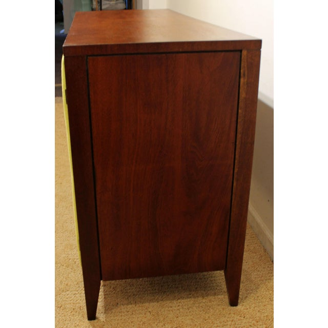 Mid 20th Century Mid-Century Danish Modern Hidden Pull Walnut Credenza For Sale - Image 5 of 11