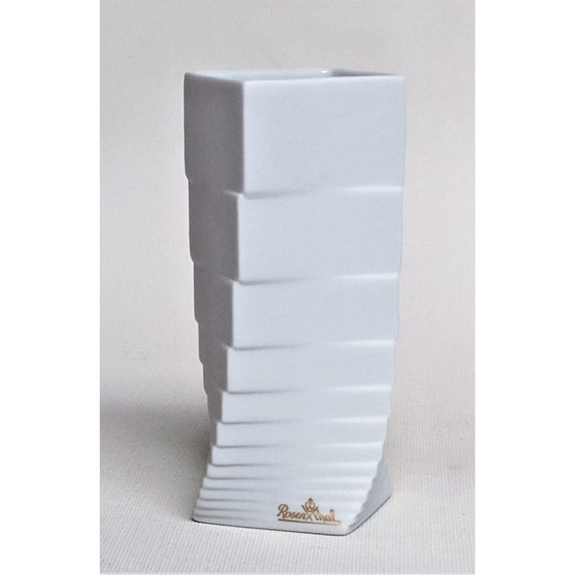 Hausler-Goltz for Rosenthal Vase. Made in the 1970s in the style of mid-century modern/