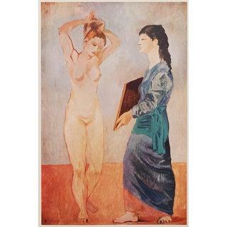 Picasso La Toilette Vintage Lithograph