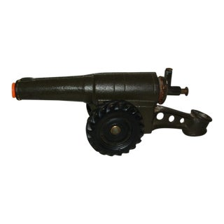 Antique Cast Iron Toy Cannon