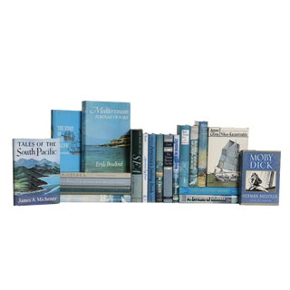 Ocean Spray Nautical Book Set, (S/20) For Sale