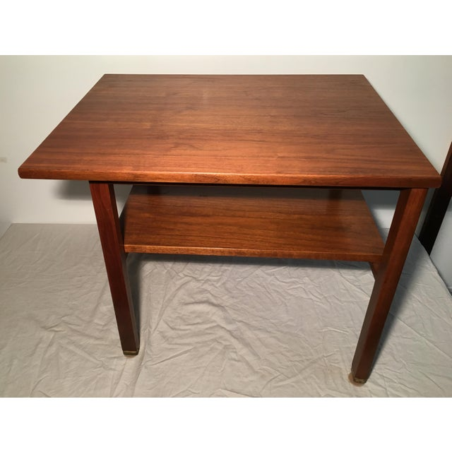 Edward Wormley for Dunbar 2 Tier Lamp Table - Image 5 of 6