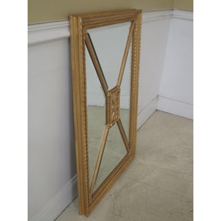Friedman Brothers Rectangular Gold Beveled Glass Mirror Preview
