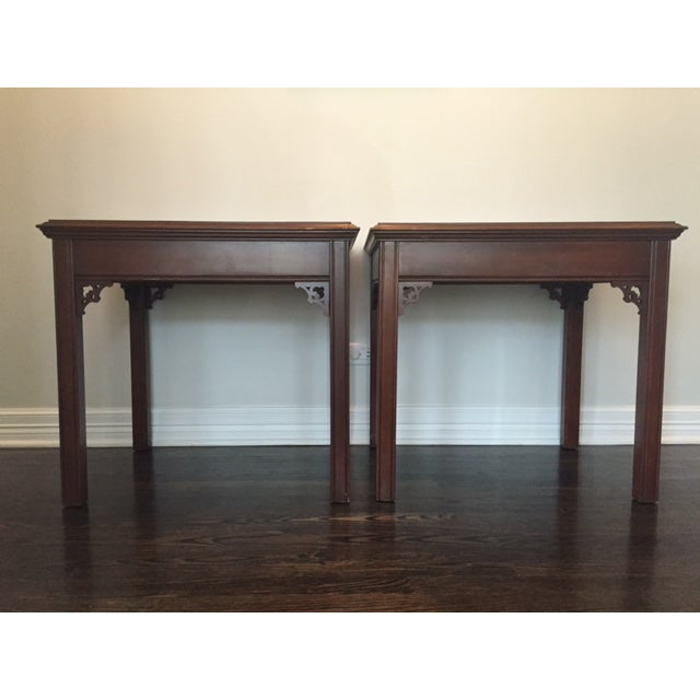 Vintage Asian Side Tables - A Pair - Image 2 of 9