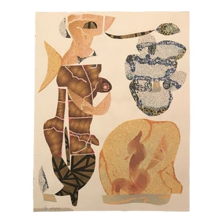 "2002 ""Nude Figure"" Collage by James Bone For Sale"