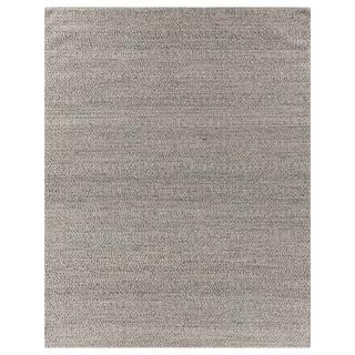 Sanz Flatweave Wool Silver Rug - 8'x10' For Sale