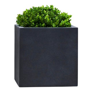 Bramley Square Planter, Extra Large, Lead Lite For Sale
