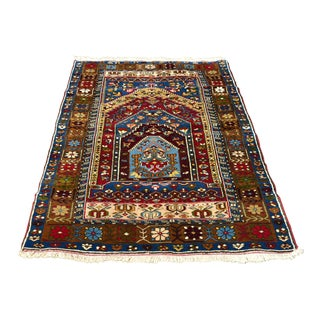 1990s Turkish Yahyali Rug - 3′5″ × 6′7″ For Sale